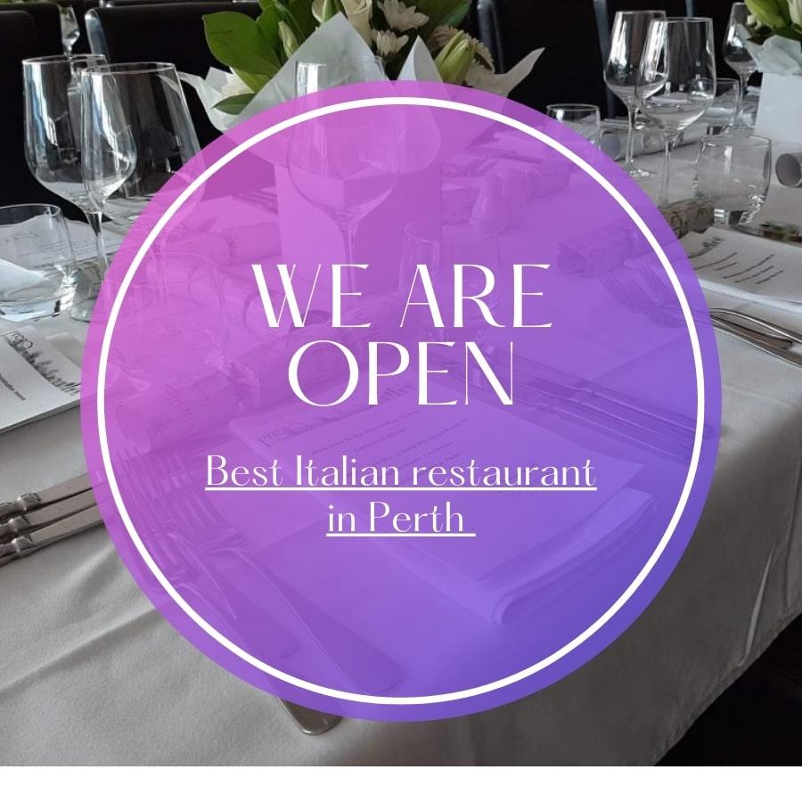 Best Italian restaurant in Perth