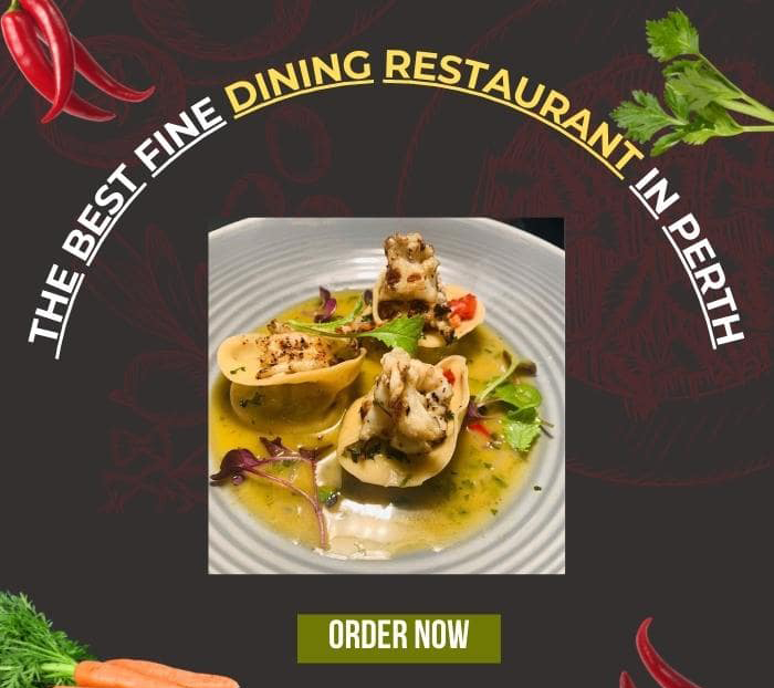 fine dinning restaurant in Perth